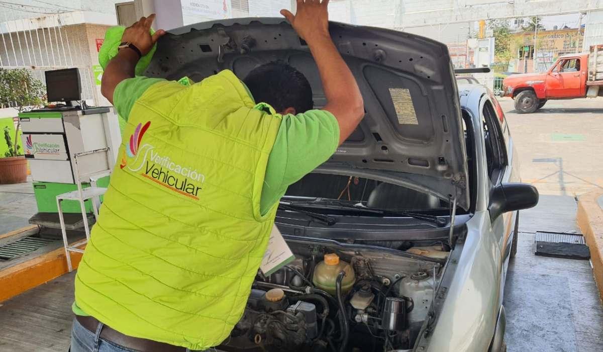 Tramite de la verificación vehicular