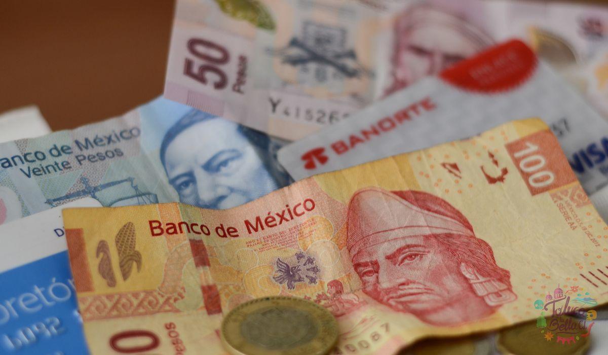 Billetes y monedas mexicanas