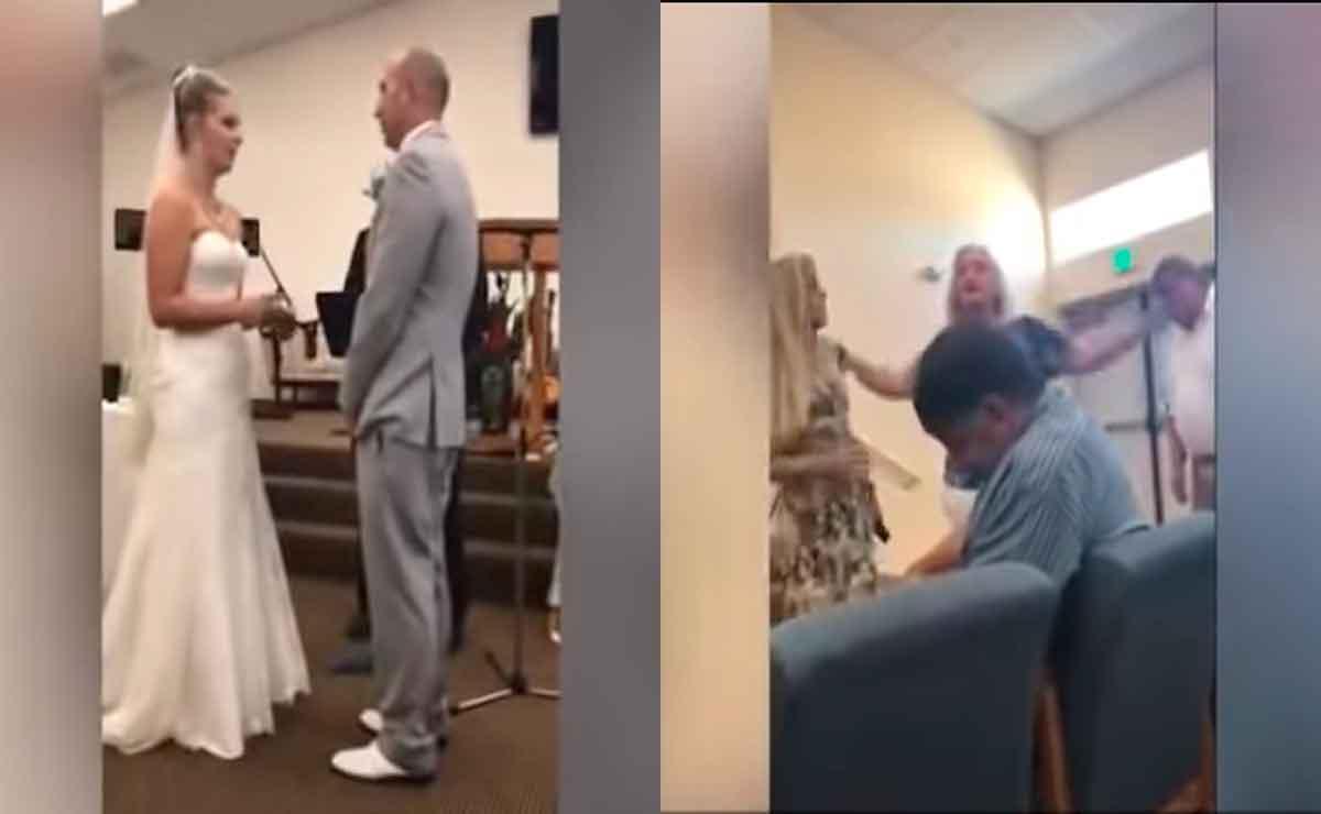 """Suegra tóxica interrumpe boda de su hijo y se pelea con la novia por """"robarse a su hijo"""""""