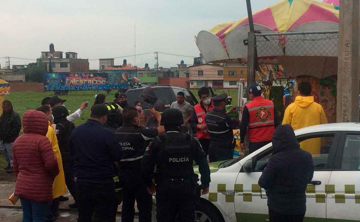 Suspenden eventos masivos en San Lorenzo Tepaltitlán, se pretendía realizar una feria patronal.