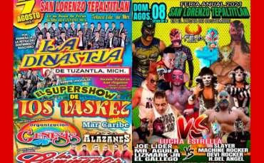 Suspenden eventos masivos en San Lorenzo Tepaltitlán: Anuncio de los eventos.