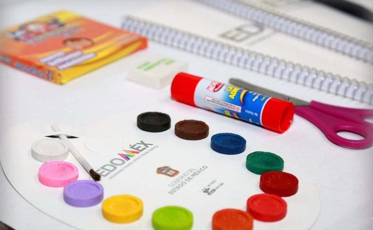 Los útiles escolares se empezarán a repartir a partir del lunes 30 de agosto en el Edomex