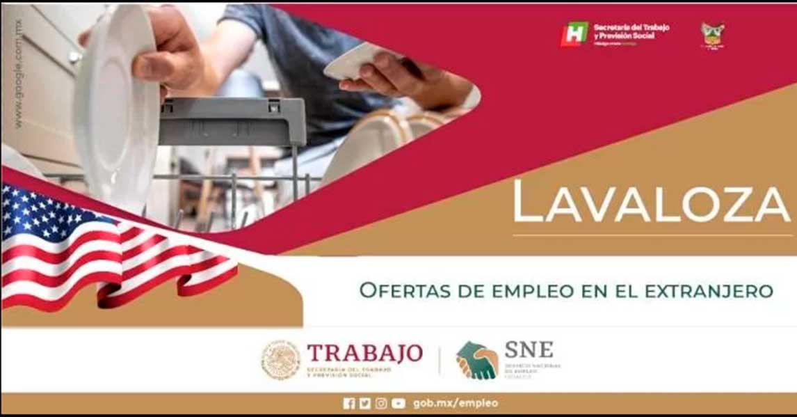 stps ofrece vacante para laborar en estados unidos por sueldo de 31 mil pesos