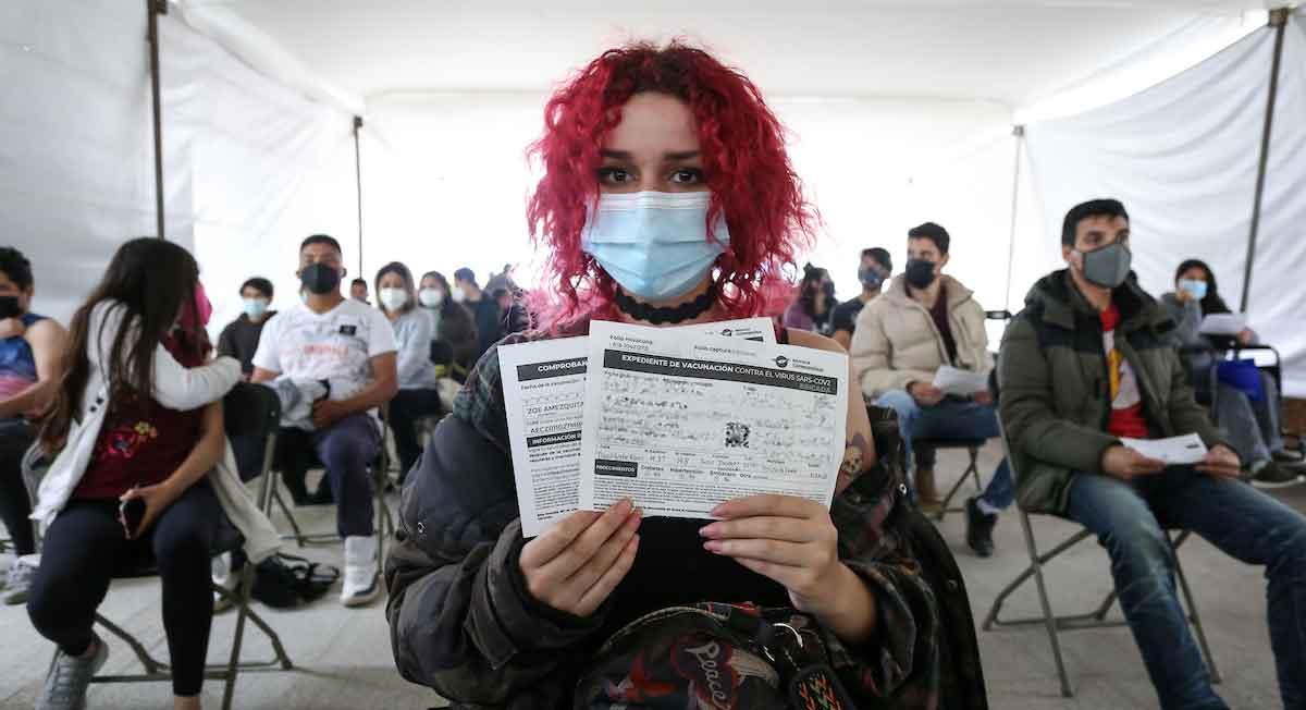 Vacunación de 18 a 29 años en Metepec y Zinacantepec
