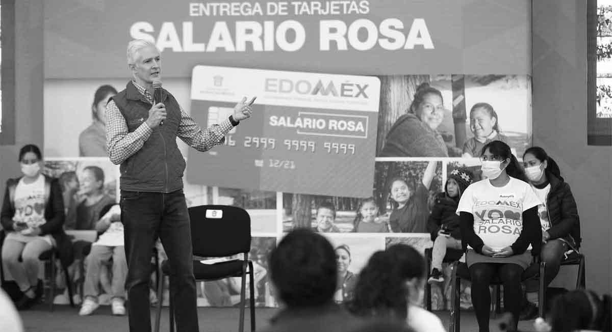 ¿Abierta la convocatoria Salario Rosa 2021 o Alfredo del Mazo solo posa para programas ficticios?