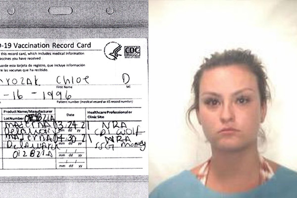 Falsifica certificado de vacunación para ir a la playa y es detenida por un error ortográfico