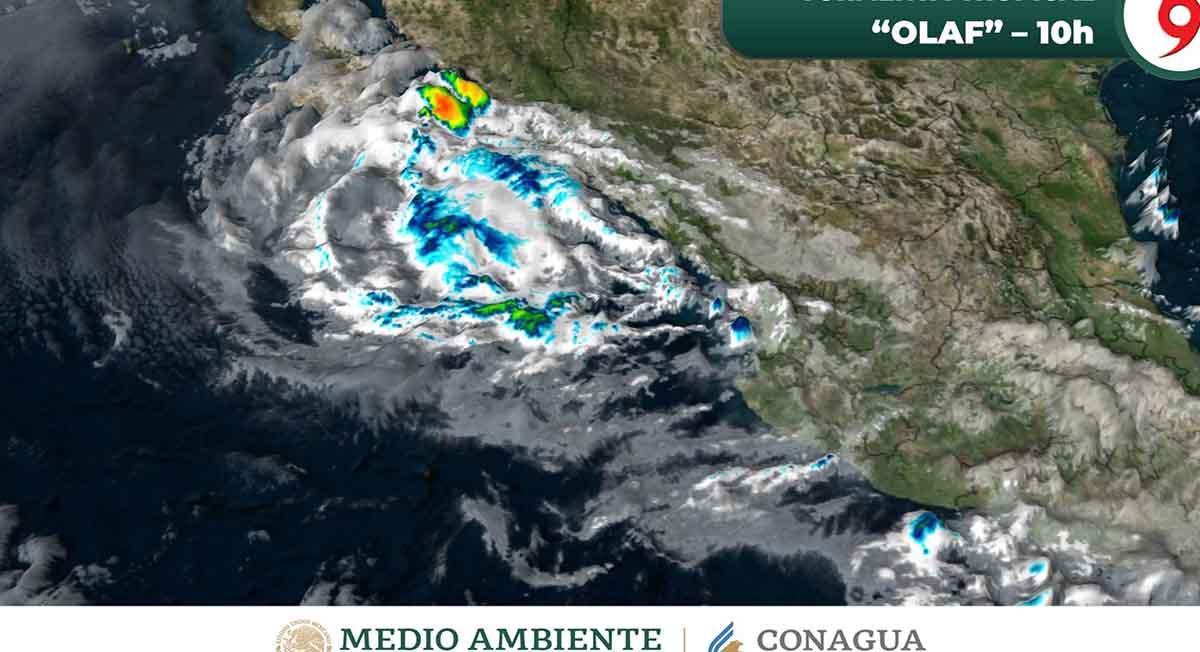 Olaf baja su intensidad de huracán a tormenta tropical