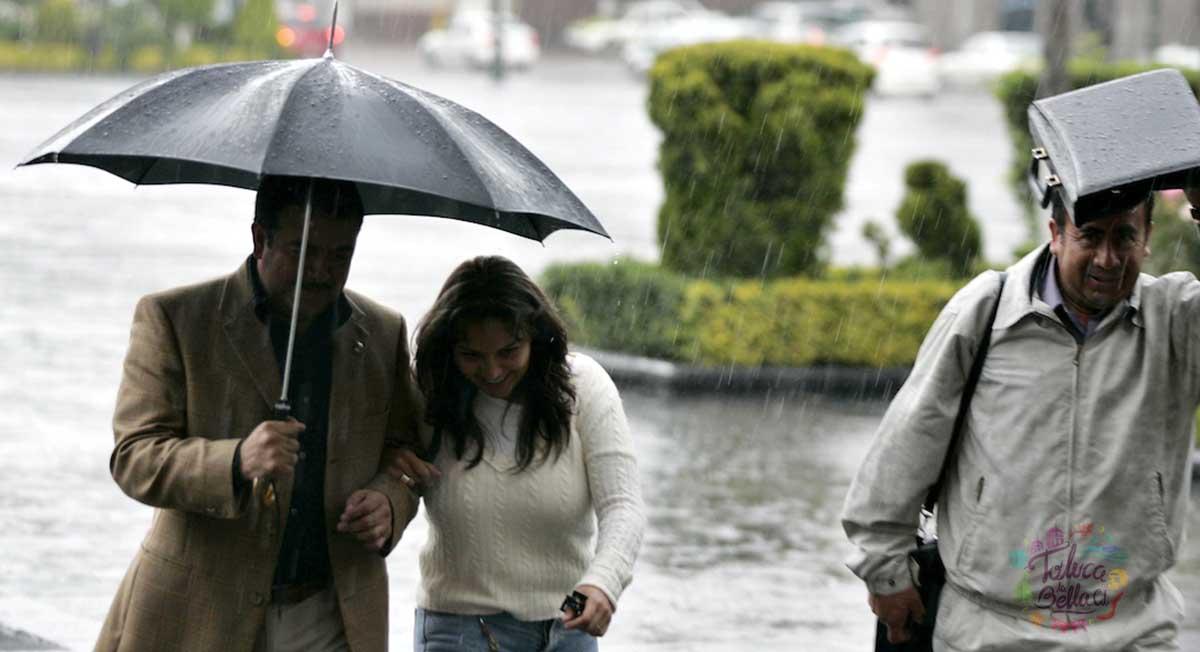 Lluvias en el Edomex serán fuertes: Servicio Meteorológico Nacional