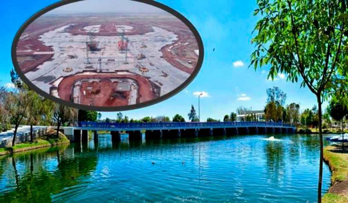 Para la restauración ambiental del Parque Ecológico Lago de Texcoco en 2022, se destinará un presupuesto de 2 mil 100 mdp.