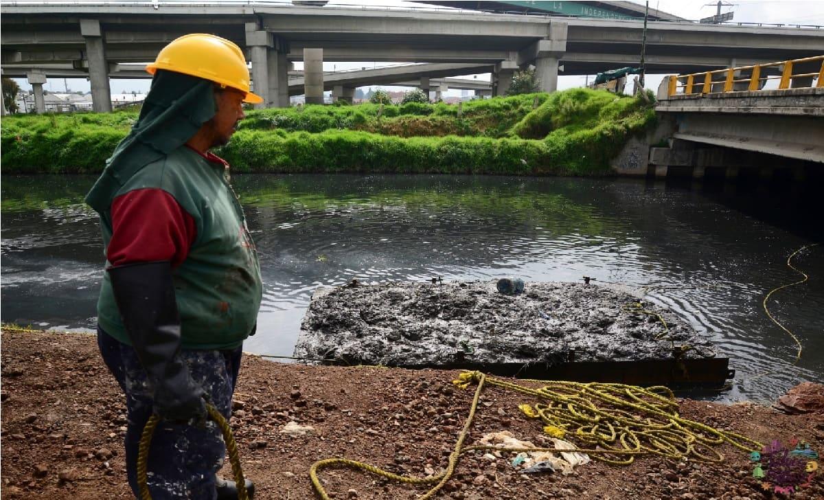 Autoridades alertan a la población por máxima capacidad del Río Lerma