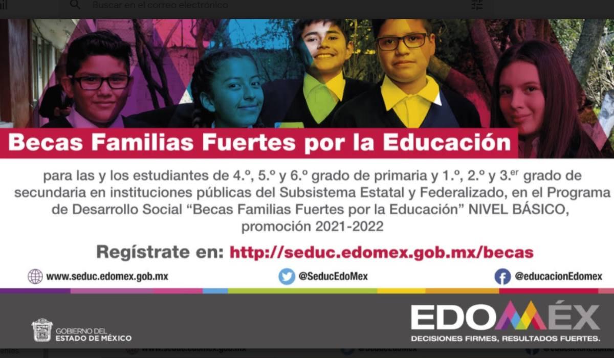 Fechas y requisitos Beca Educación Básica EdoMéx alumnos de primaria y secundaria