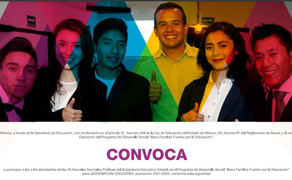 Becas Edomex 2021: Solicita el apoyo de 800 pesos para Educación Normal