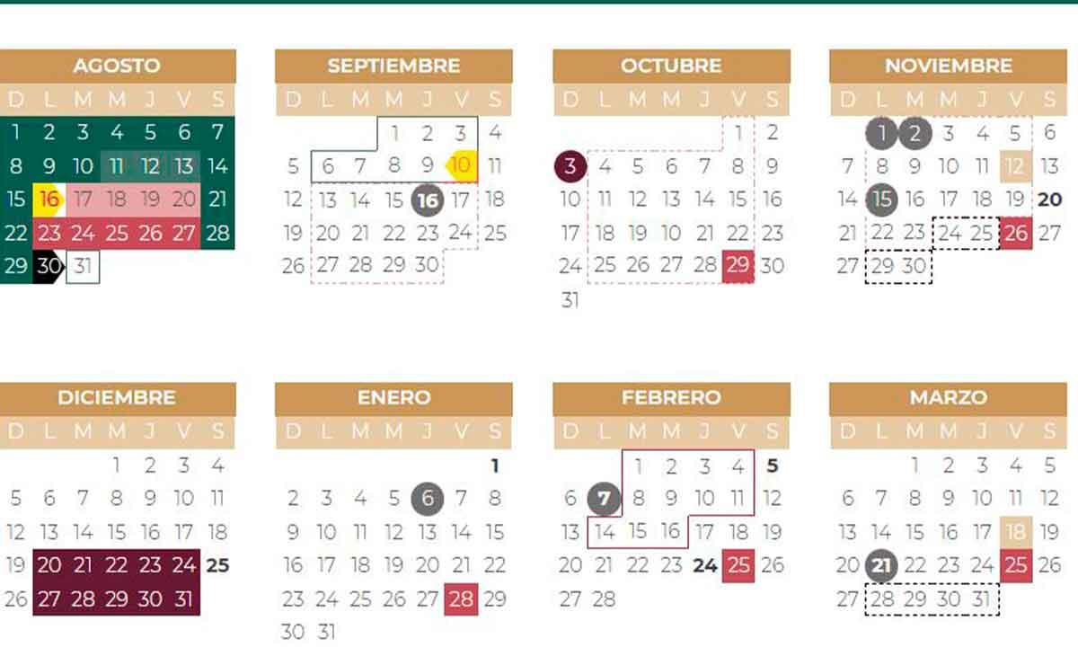 Calendario Escolar 2021 SEP: ¿Cuándo es el puente de noviembre 2021?