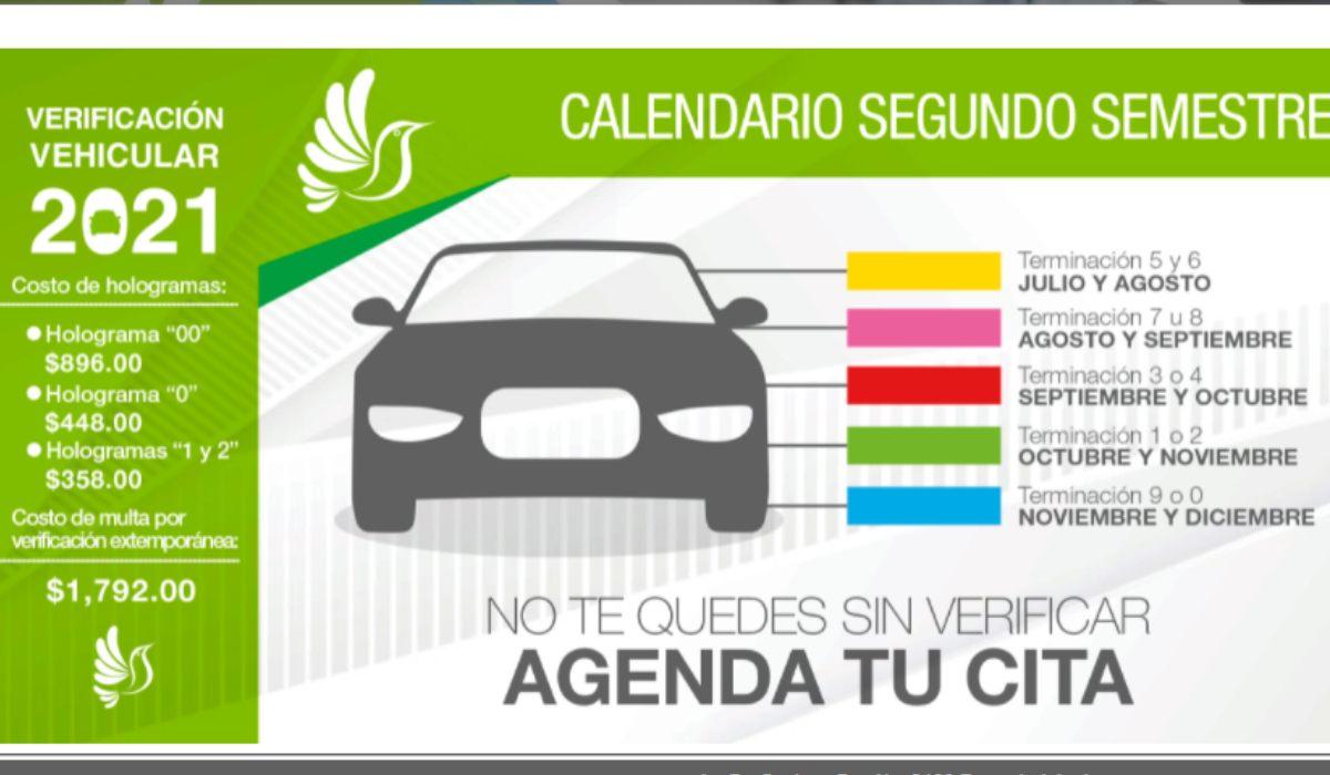 Precios y requisitos para realizar la verificación vehicular Edomex 2021