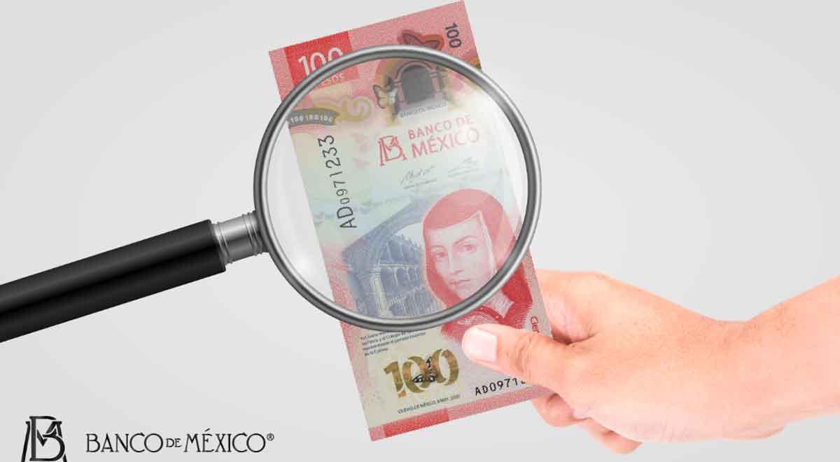 ¿No sabes cómo identificar los billetes falsos? Aquí te decimos cómo revisar los nuevos elementos de seguridad