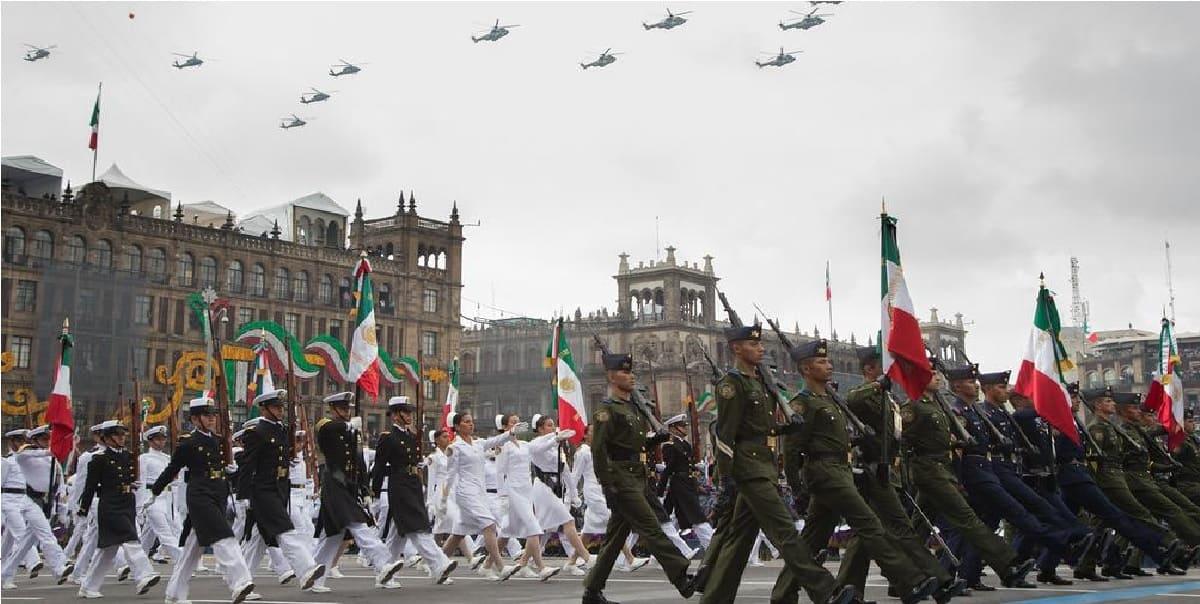 ¿En dónde puedo ver el Desfile Militar 2021 del 16 de septiembre de CDMX?
