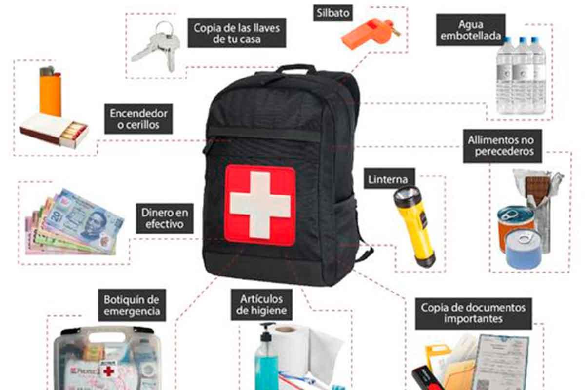 Kit de emergencia: ¡No está de más tenerlo en casa y a la mano!