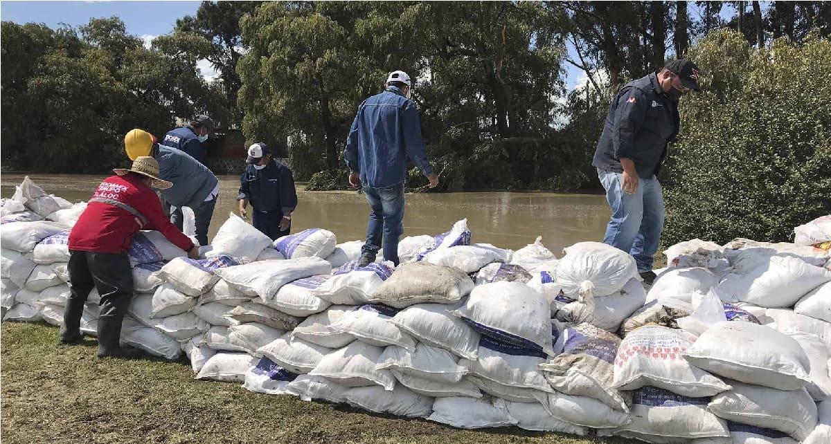 Conagua mantienen alerta por posible desborde del Río Lerma en el Edomex