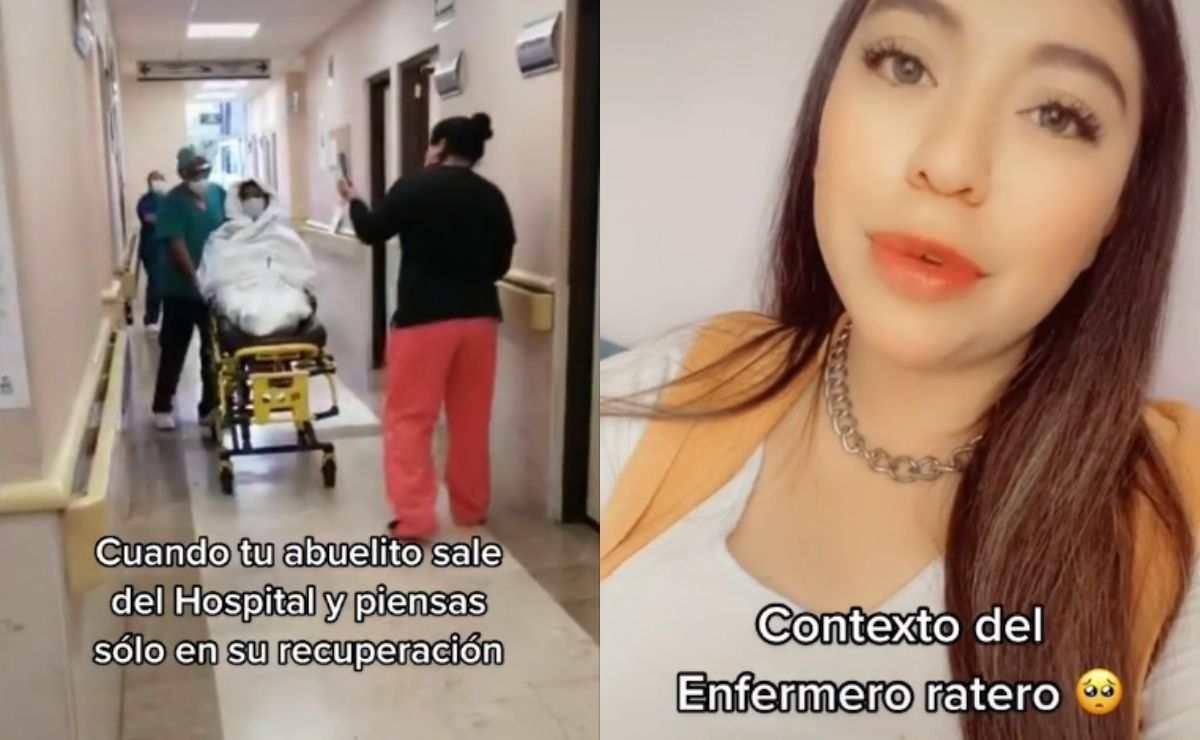 Enfermero le roba concentrador de oxígeno a abuelito y se hace viral