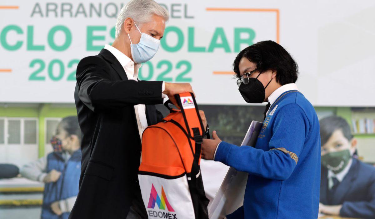 Conoce el contenido de la mochila de útiles escolares para educación básica EdoMéx 2021
