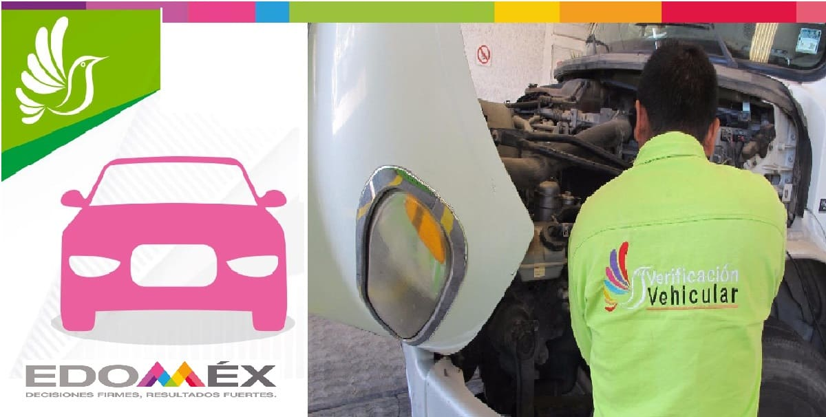 Quedan dos días para hacer la verificación Edomex de autos con engomado rosa