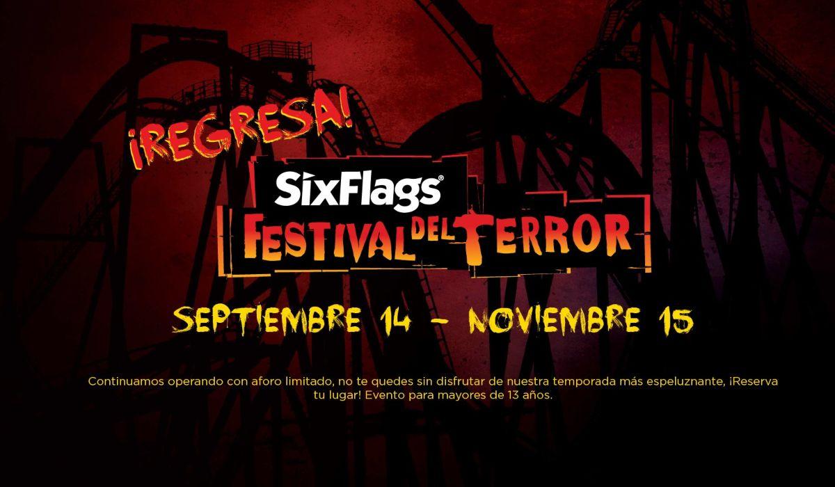 Six Flags anunció las fechas del Festival del Terror 2021