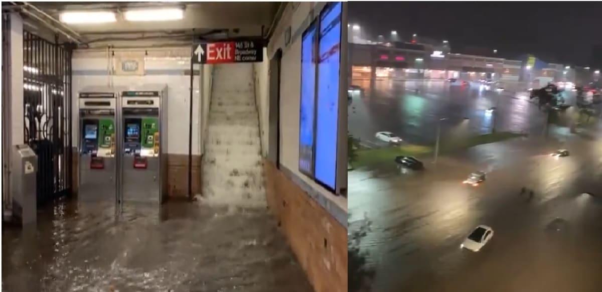 Huracán Ida deja a Nueva York bajo el agua debido a severas inundaciones
