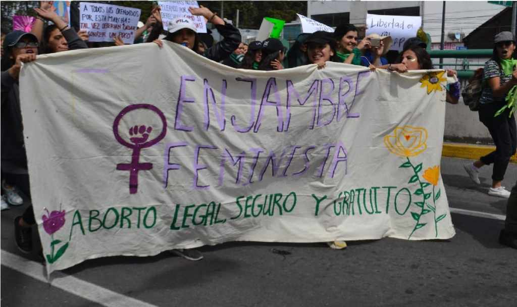 marcha a favor del aborto legal 28 de septiembre toluca