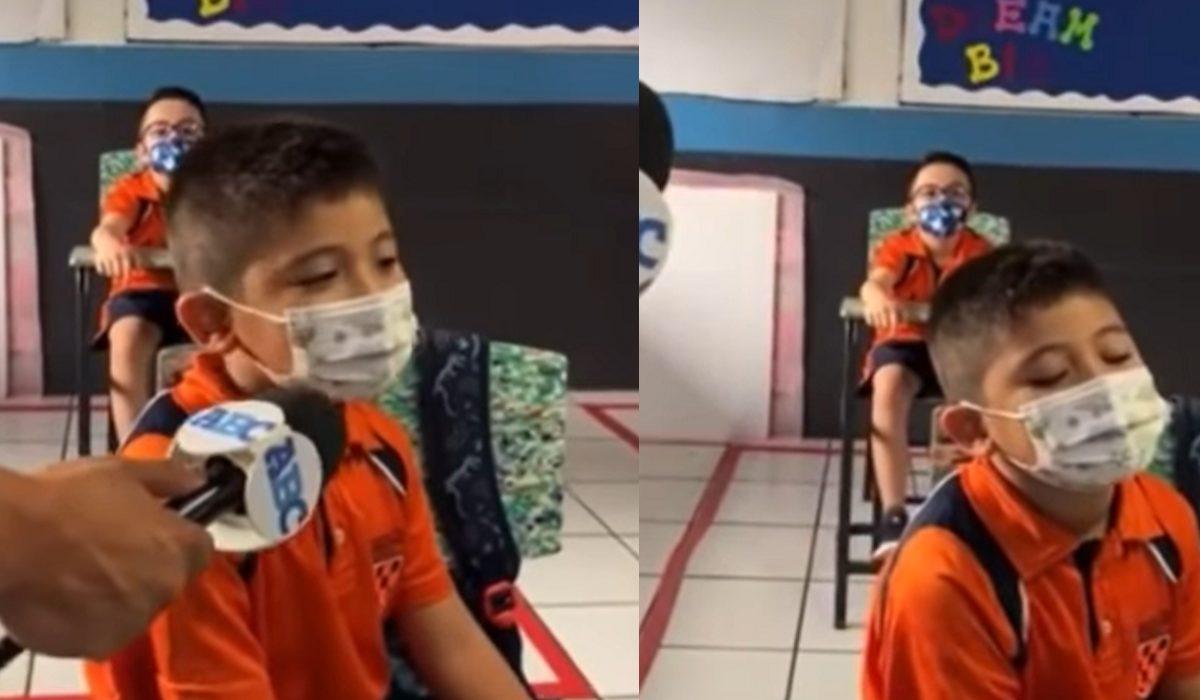 """Video viral- """"Mire la verdad estos no son mis amigos"""" niño se vuelve tendencia por su sinceridad"""