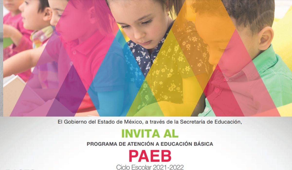 Paeb- Requisitos inscripción extemporánea EdoMéx sin folio del SAID para educación básica