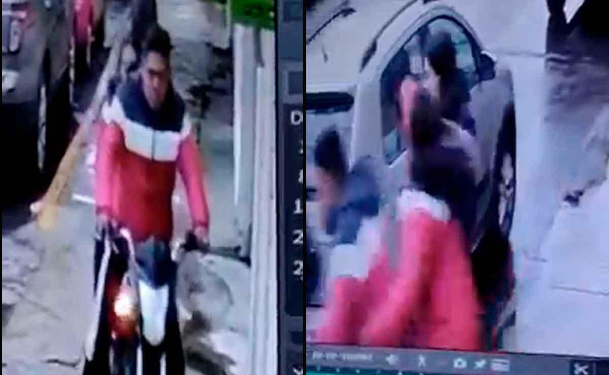 Roban un celular en Toluca: Buscan identificar a los presuntos asaltantes