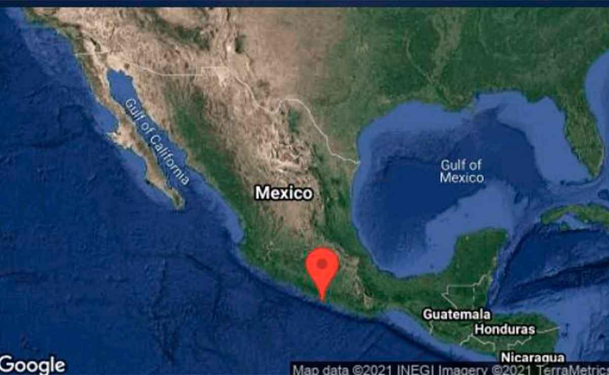Se registra fuerte sismo en Guerrero