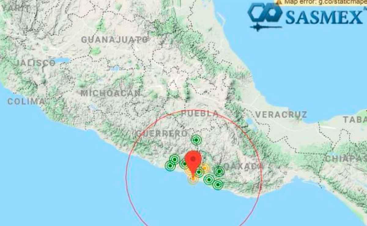 Se registra fuerte sismo en Guerrero.