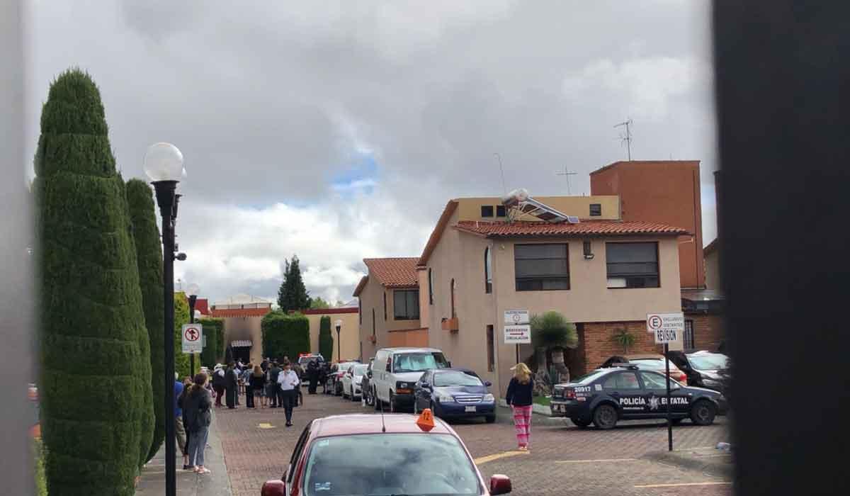 Se registra explosión en fraccionamiento Campestres del Valle en Metepec, Edomex