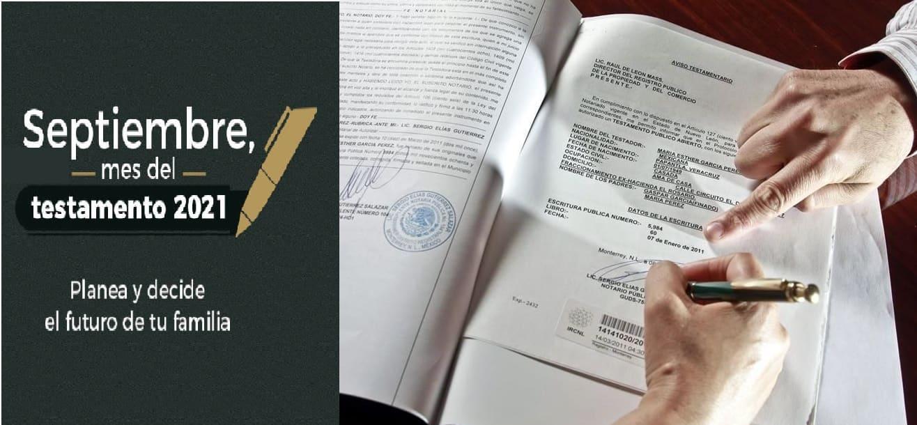Edomex ofrecerá elaboración de testamento de manera gratuita a sus habitantes