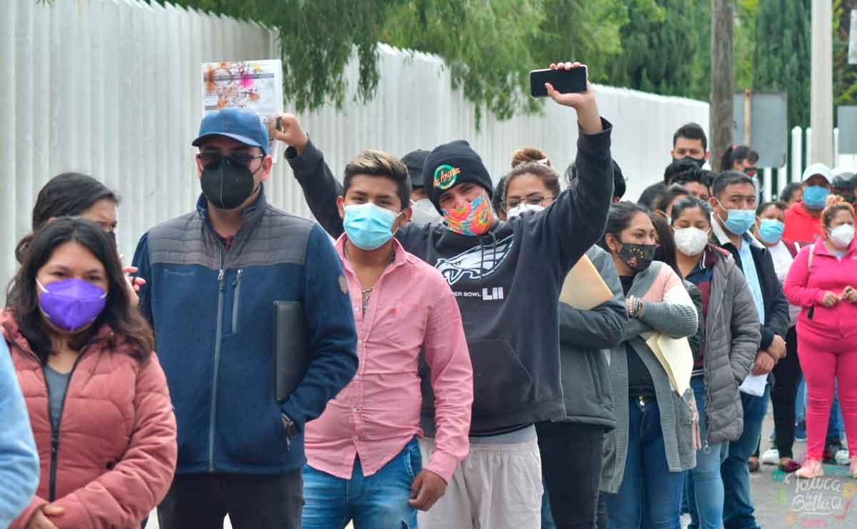 Toluca: Nuevas sedes para recibir segunda dosis de vacuna para 18 a 29 años