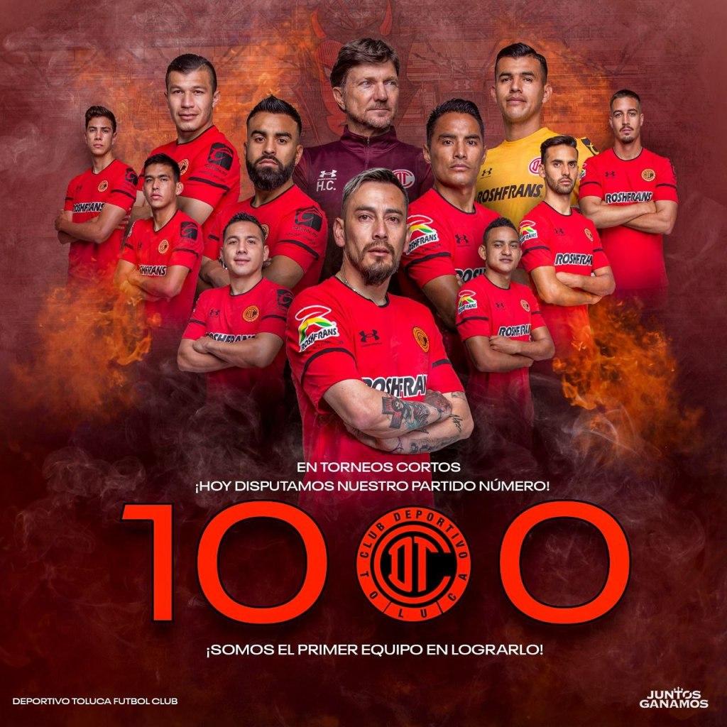 Un ganado y un perdido para el Toluca FC en doble jornada