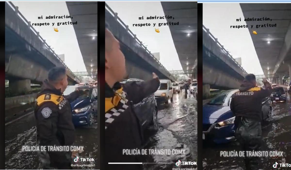 Video viral 2021- Policía de la CDMX se gana el respeto mostrando el amor por su trabajo
