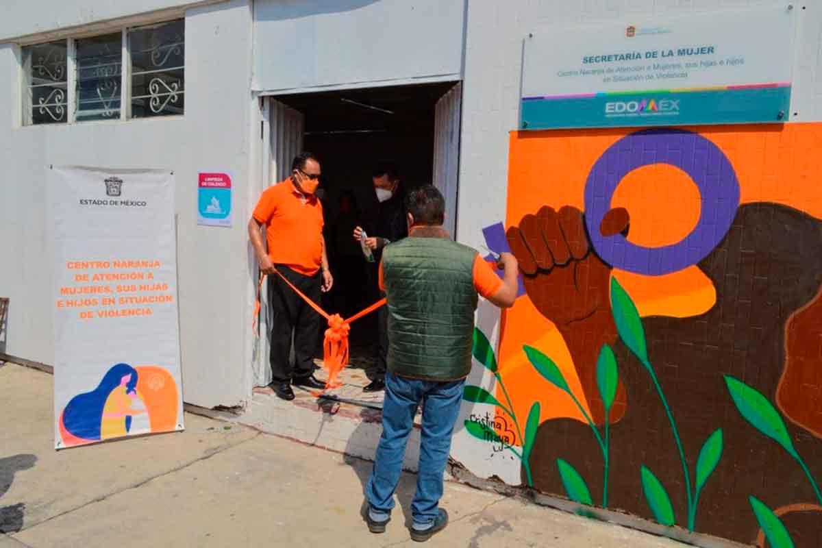 Centro Naranja en Merado Juárez de Toluca: ¡Juntas contra la violencia de género!