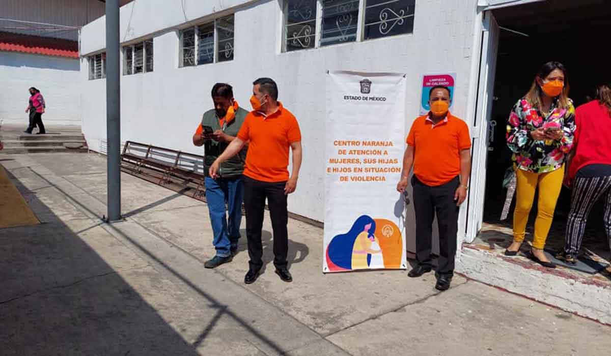Nuevo Centro Naranja en el Mercado Juárez de Toluca con el objetivo de erradicar y prevenir la violencia de género en el Estado de México