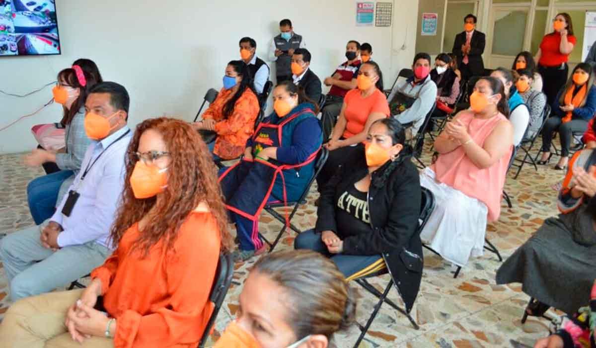 Nuevo Centro Naranja en el Mercado Juárez de Toluca con el objetivo de erradicar y prevenir la violencia de género en el edomex