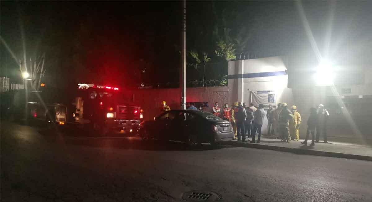 Fabrica de zona industrial de Toluca sufre explosión