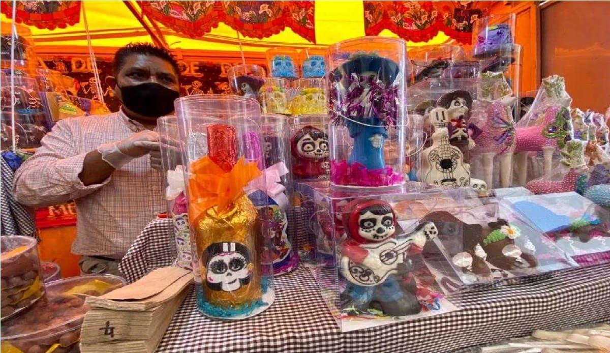 ¿Qué medidas de higiene tendrá la Feria del Alfeñique 2021 de Toluca?