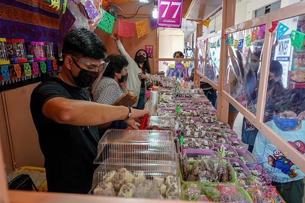 Medidas sanitaras de la Feria del Alfeñique Toluca 2021