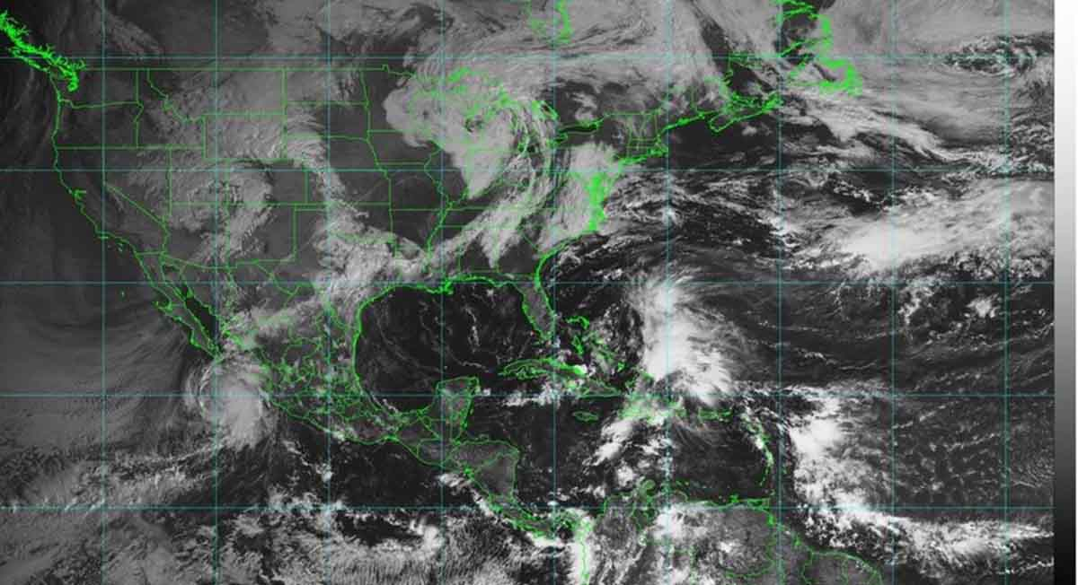 Pamela se convierte en huracán categoría 2: Conagua