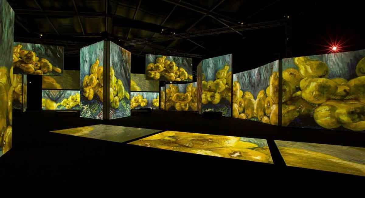 parque de la ciencia toluca tiene exposicion de van gogh alive