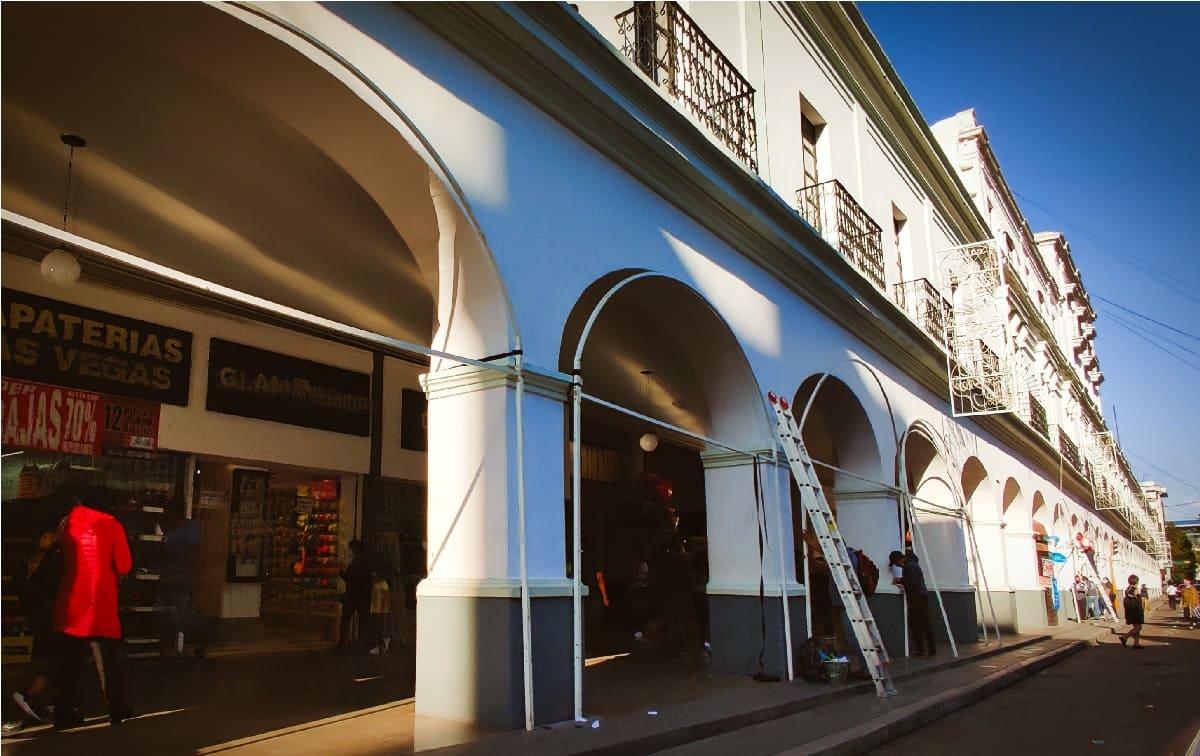 Toluca ya está colocando los puestos de la Feria del Alfeñique 2021