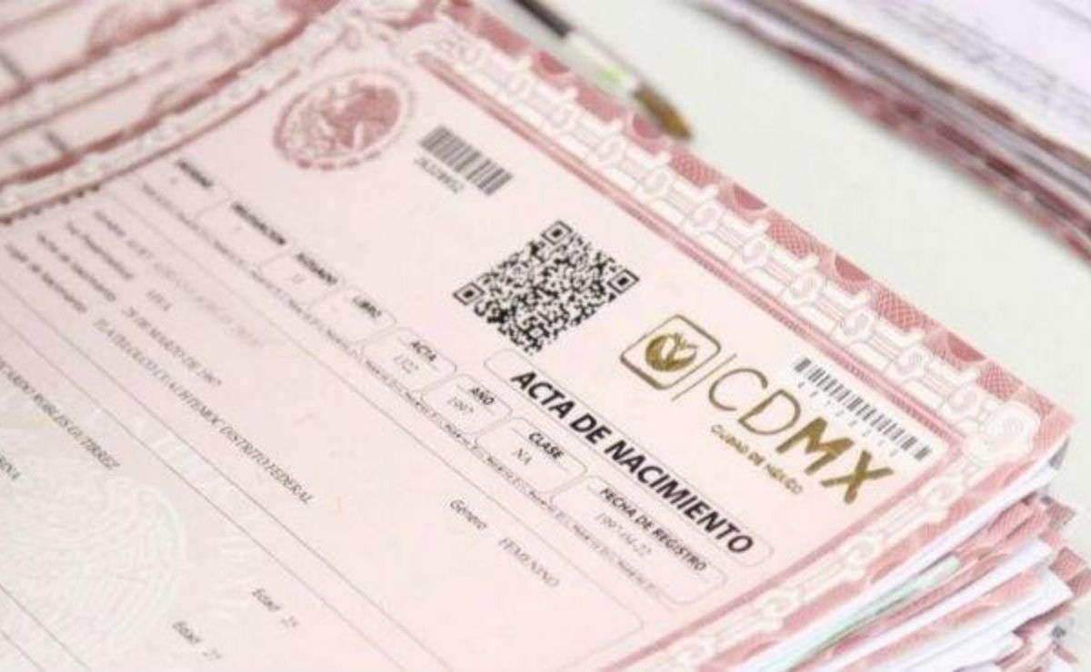Ya puedes imprimir desde casa tu acta de nacimiento, matrimonio y defunción con validez oficial