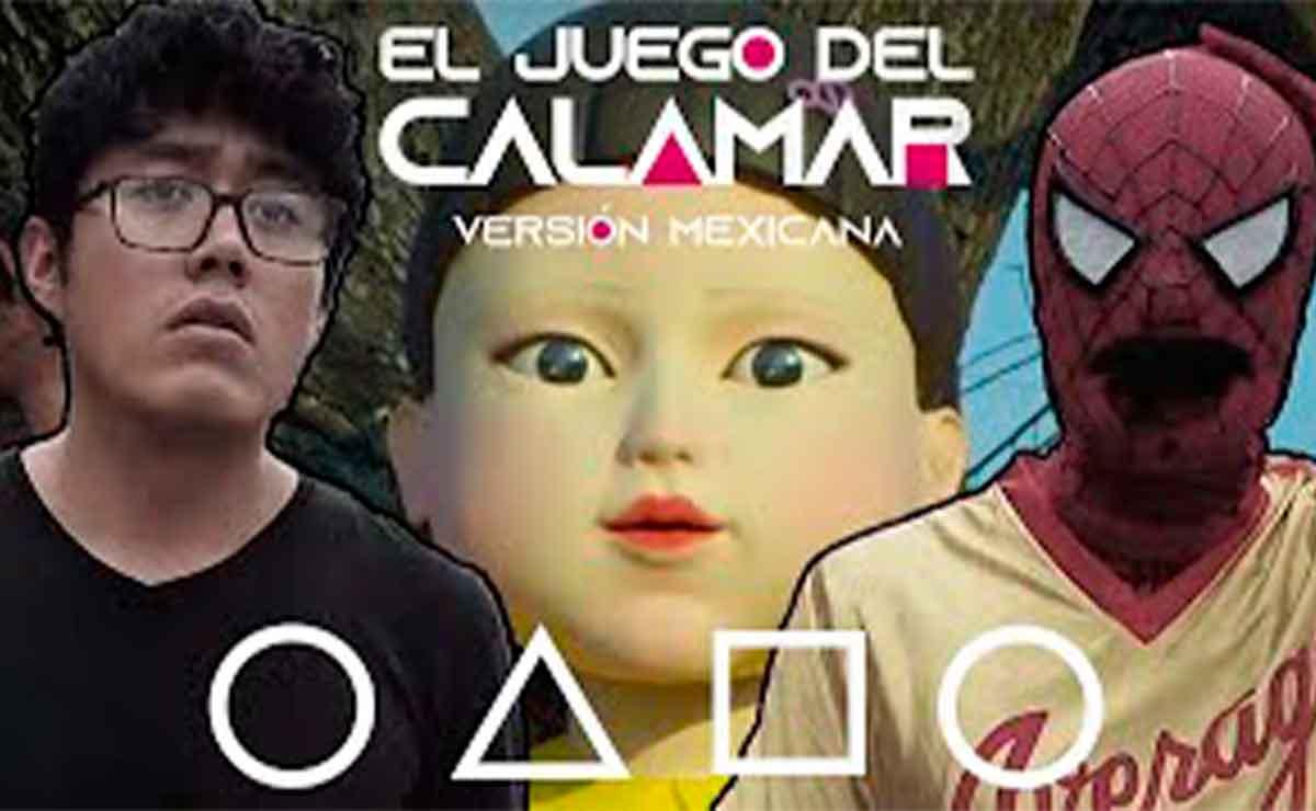Juego de calamar version mexicana: Hank Parodia