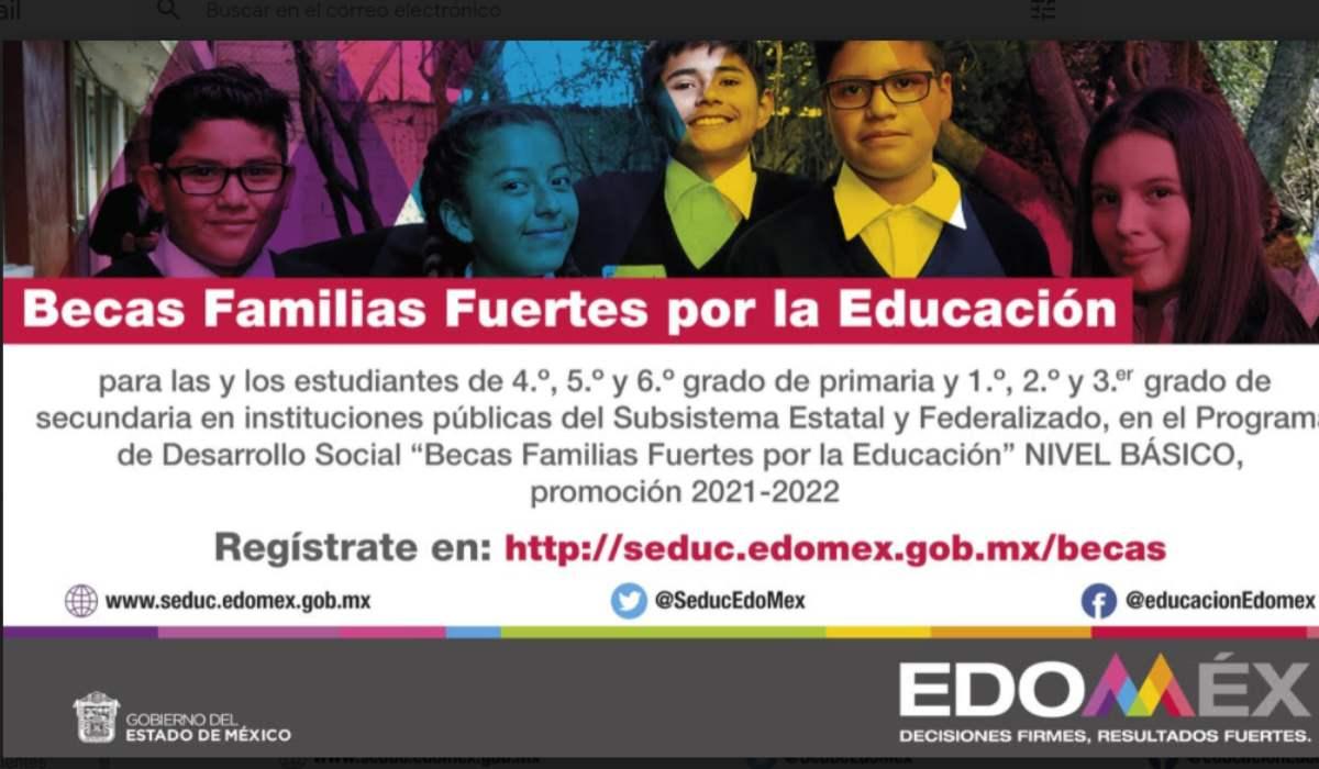 Beca Educación Básica EdoMéx 2021- Conoce el calendario de registro para primaria y secundaria